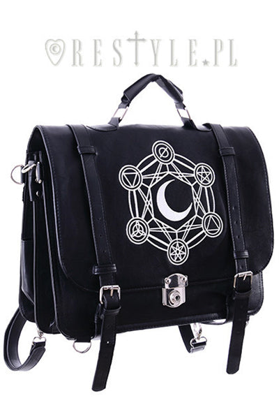 Restyle MOON MESSENGER Bag&Backpack - YOU ARE MY POISON