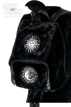Restyle MOON & SUN BACKPACK (Black)