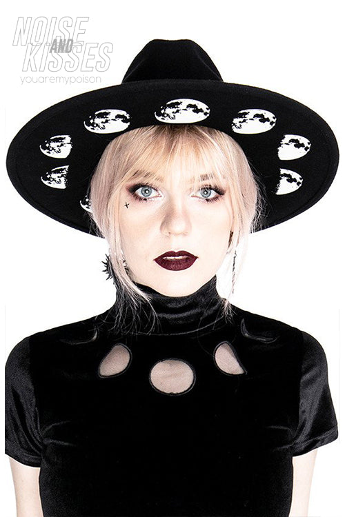 Restyle Moon Phases Hat (Black)