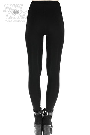Restyle RINGS LEGGINGS (Black)
