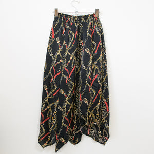 Scarf Skirt (Black)