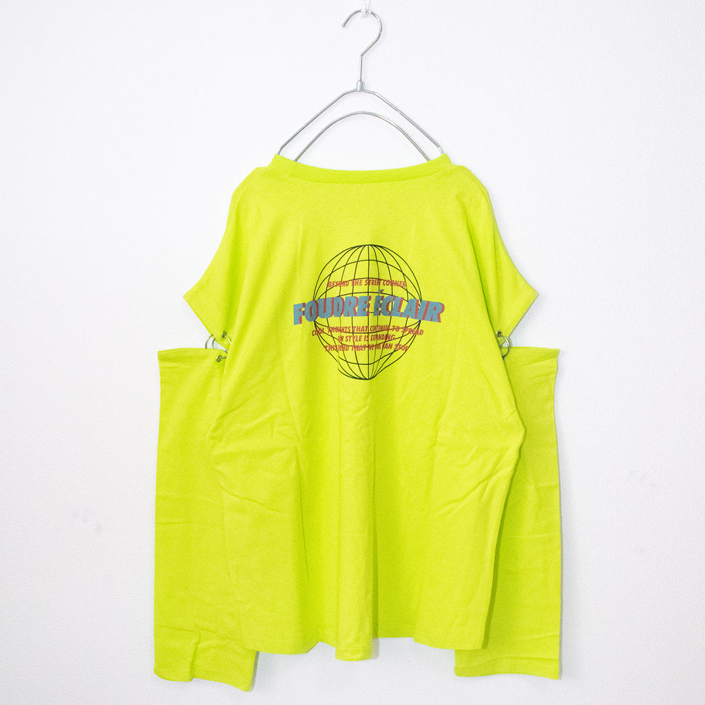 Logo Ring Joint Sleeve T-shirt (4 color)