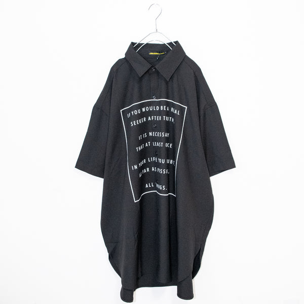 BIG Silhouette Rose S/S Shirt (2 color)
