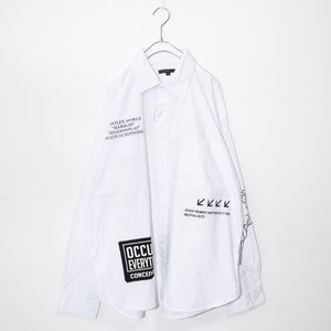 Mono Logo Rose Mens L/S Shirt (2 color)