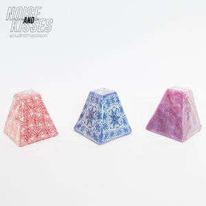 Swaziland Handmade Candle Mini Pyramid (3 color)