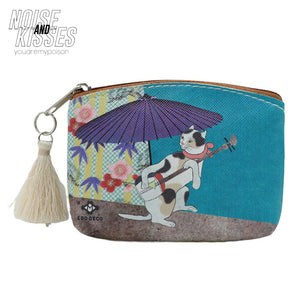 Shareneko Mini Pouch (Umbrella)