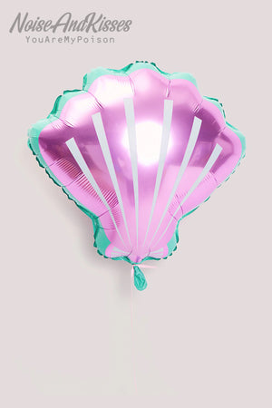 Shell Shaped Balloon 3pcs