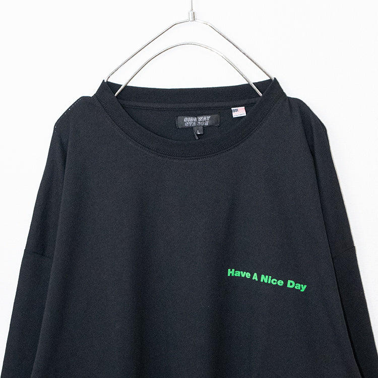 US Cotton Back Logo L/S T-shirt (3 color)