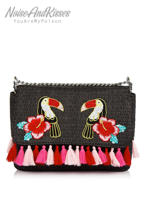 Skinnydip Toucan Marley Mini Cross Body Bag