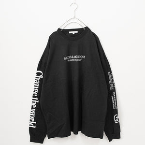 Heavy Cotton Logo BIG L/S T-shirt (3 Color)
