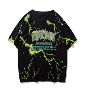 Thunder All-over Logo T-shirt (2 color)
