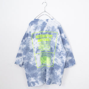 Pastel Tie Dye Big S/S T-shirt (Navy)