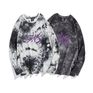 Tie-Dye Logo L/S T-shirt (2 color)