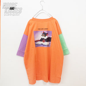 Tom & Jerry Photo Back S/S T-shirt (2 color)