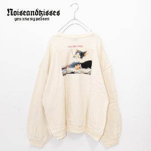 Tom And Jerry Back Photo Sweatshirt (2 color)