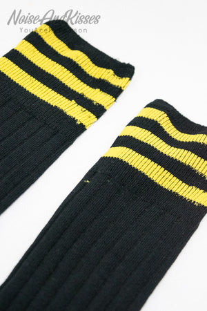 Sporty High Line Socks (Yellow)