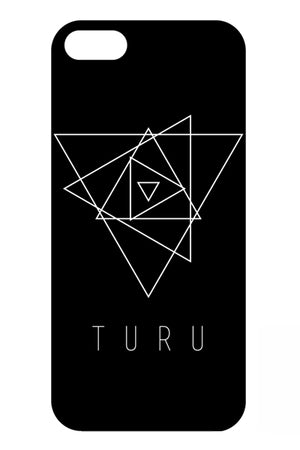 TuRu iPhone Case (Black)