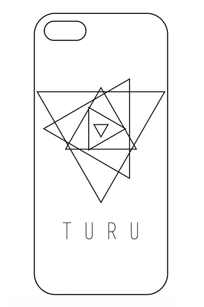 TuRu iPhone Case (White)