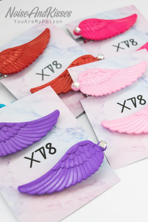 XTS Twin Wings Hair Pin Set (5 Colors)