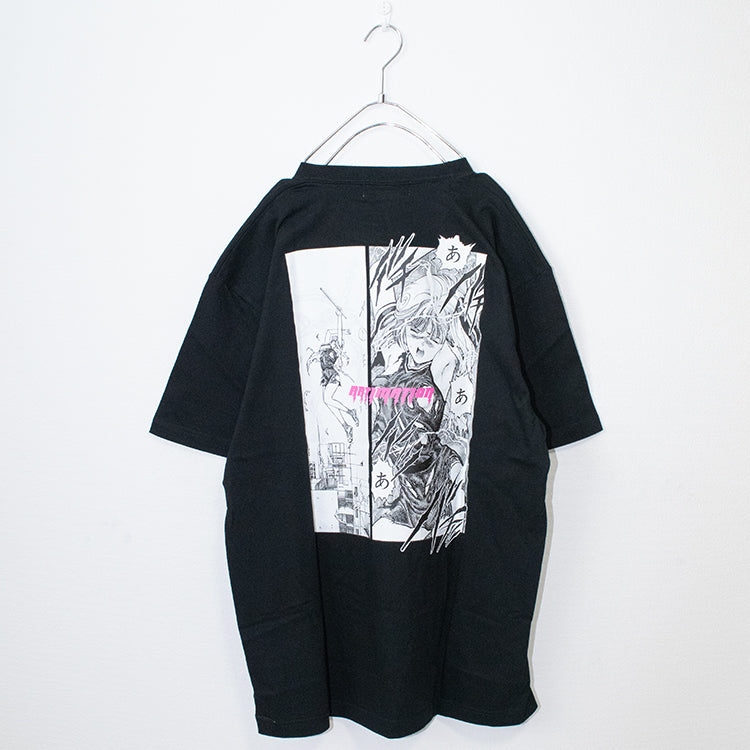 ARTIMATIONx VIDEO GIRL AI THUNDER ACTION S/S T-shirt (2 color)