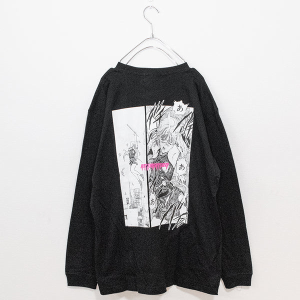 ARTIMATIONx電影少女(Video Girl Ai) THUNDER ACTION L/S T-shirt (2 color)
