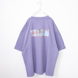 VISION STREET WEAR 3 Type Illustration Oversized T-shirt (2 color)