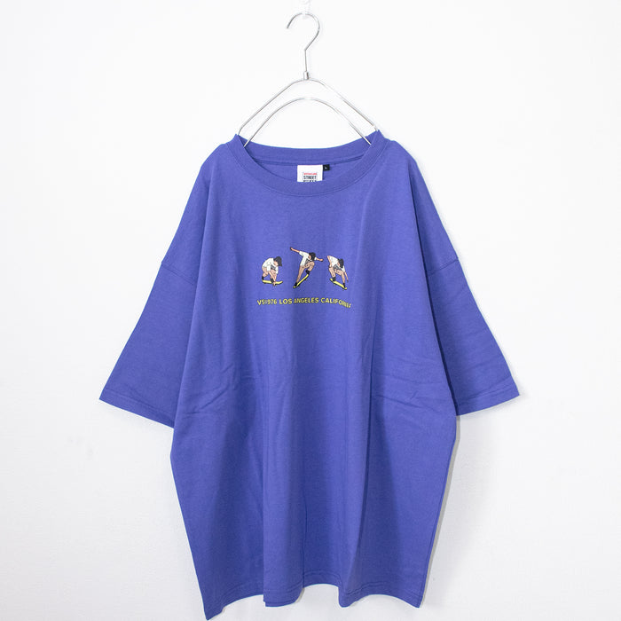 VISION STREET WEAR Ollie Illustration Oversized T-shirt (3 color)