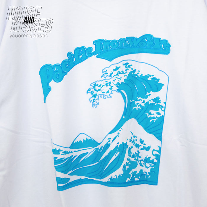 Ocean Wave T-shirt (White)
