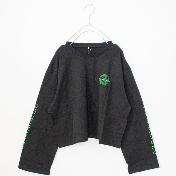 Earth Icon Short L/S T-shirt (3 color)