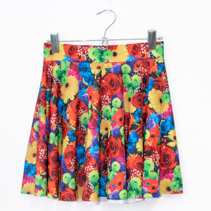 XTS Original Spandex Skirt (Color Flowers)