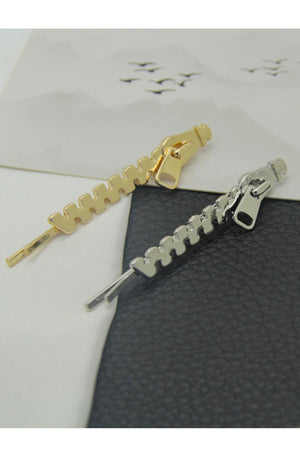 Zipper Hair Pin (2 Colors)