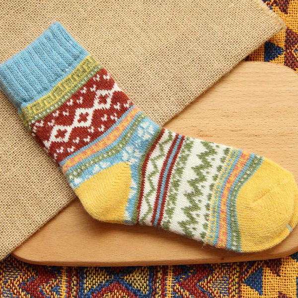 Unsplashed Angora Wool Socks - Sheepiefy