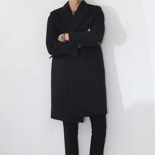 Men's Grand Cashmere Trench Coat