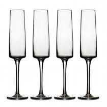 CaRRoL BoYeS (LUMINA) (SET OF 4) CHAMPAGNE FLUTE