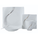 MAXWELL AND WILLIAMS (FREQUENCY) (16 PIECE) DINNER SET