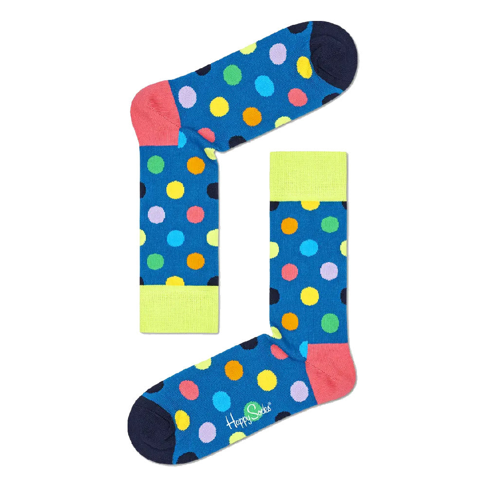 HAPPY SOCKS MEN'S (BDO01-6502) (BIG DOT) SOCKS