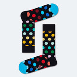 HAPPY SOCKS MEN'S (BDO01-0101) (BIG DOT) SOCKS