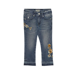POLO LITTLE GIRLS (KIM EMBROIDERED CROPPED) JEANS