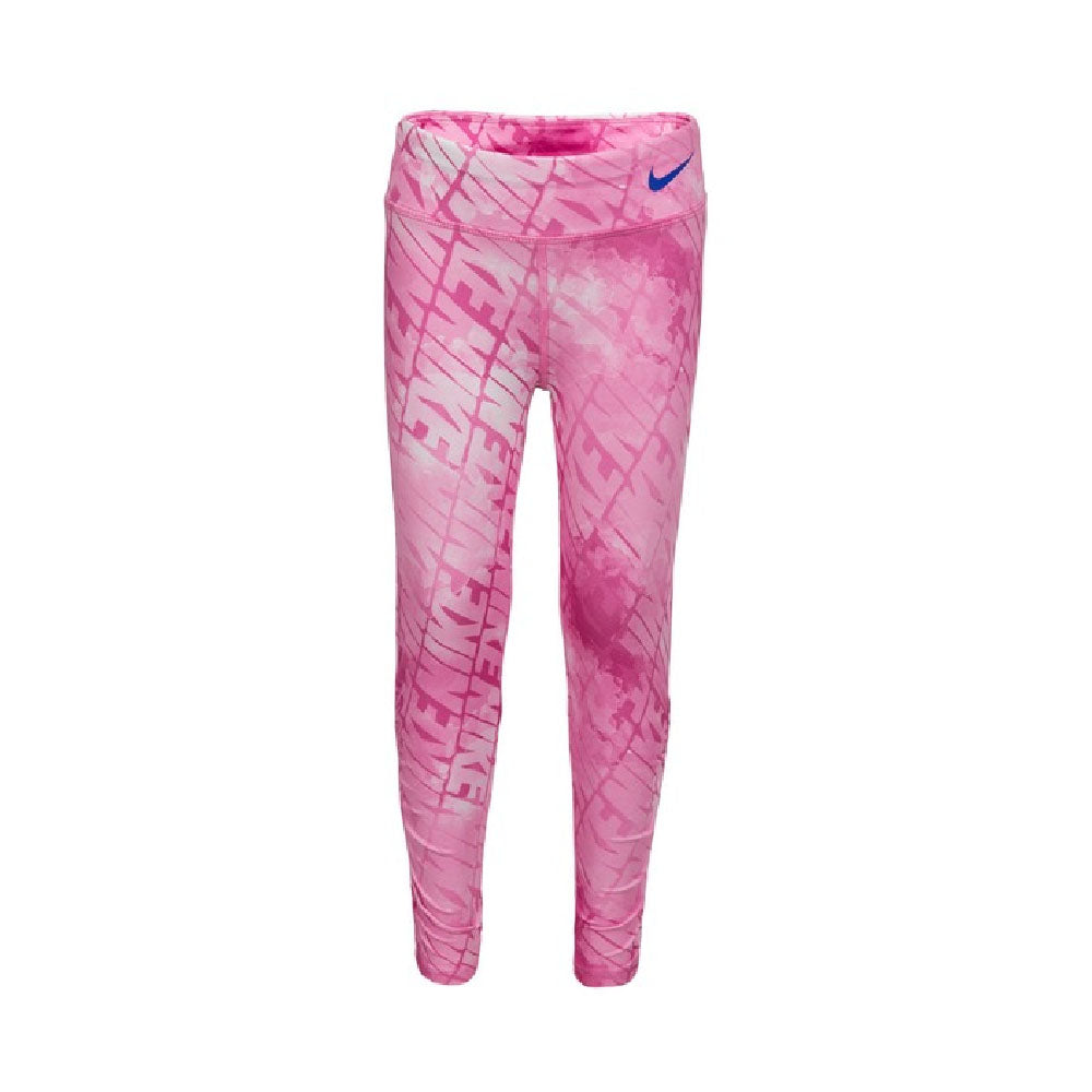 NIKE LITTLE GIRLS (DF WATERCOLOR) (DRI-FIT) TIGHTS