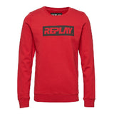 REPLAY MENS (M3914) (RED) SWEATER