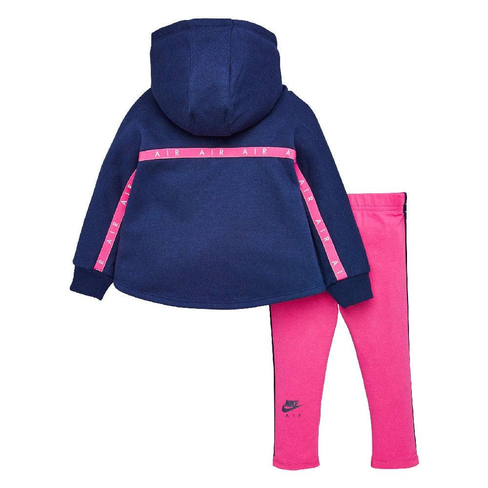 NIKE BABY GIRLS (G340) (NEW AIR PO AND LEGGING) SET