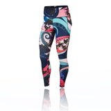 NIKE WOMENS (CU3093-639) (EPIC LUXE ICON CLASH) LEGGINGS