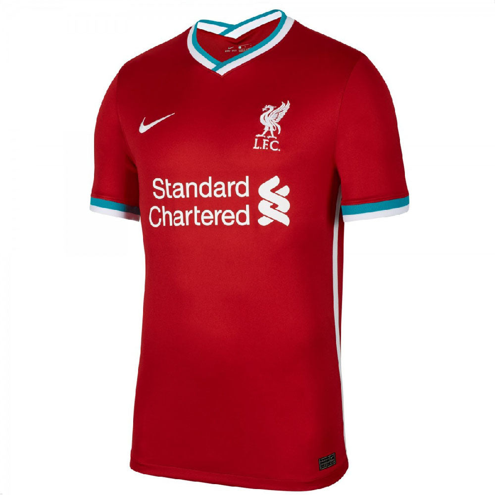 NIKE MEN'S (LIVERPOOL FC 2020/21 STADIUM HOME) FOOTBALL SHIRT