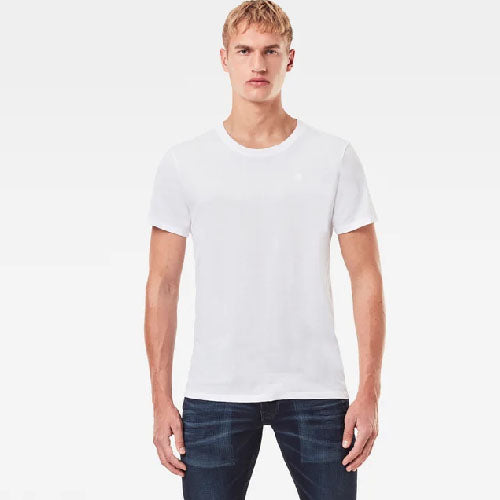 MEN'S G-STAR RAW (BASIC HEATHER) (ROUND NECK) (2-PACK) T-SHIRT