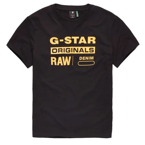 MEN'S G-STAR RAW (D14143-336-6484) (GRAPHIC 8 R) T-SHIRT