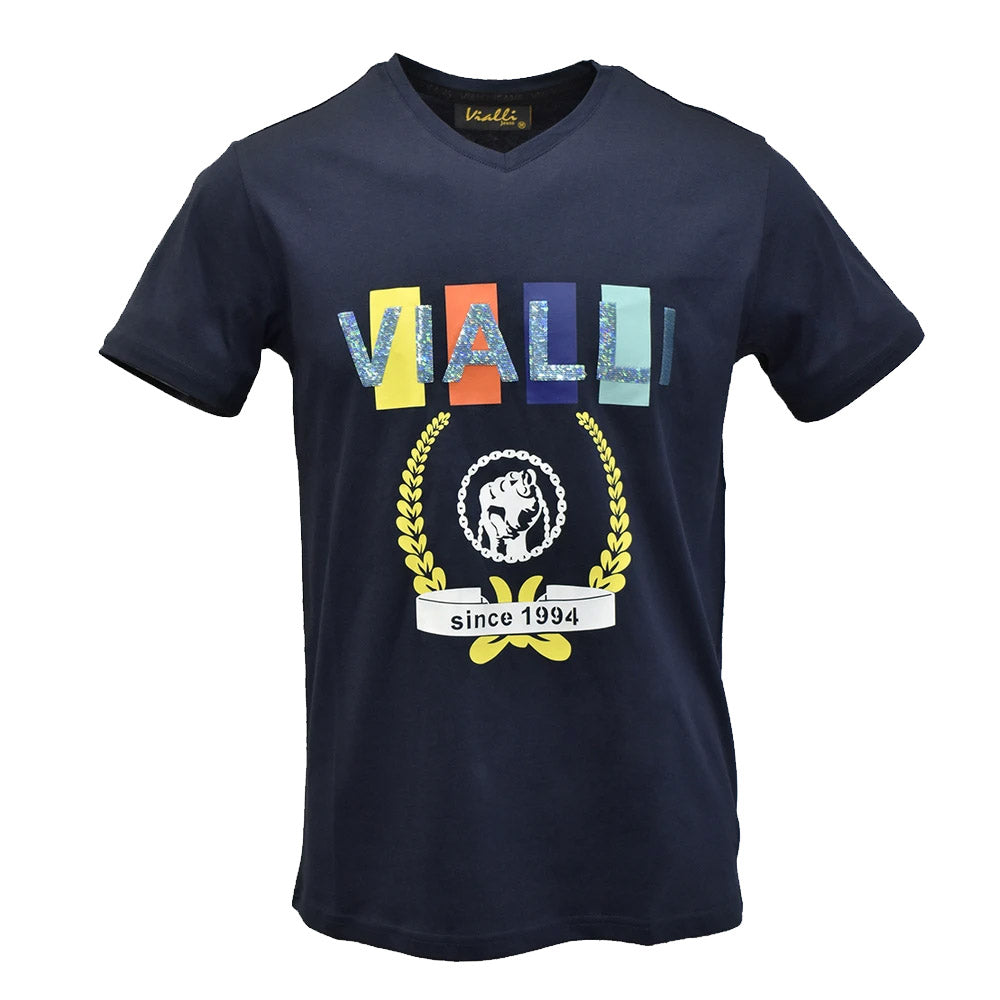 VIALLI MEN'S (VJ20SM80) (CHILLIK) T-SHIRT