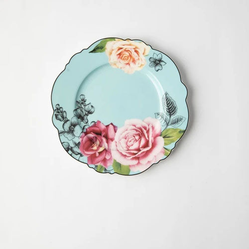JENNA CLIFFORD (WAVY ROSE) SIDE PLATE