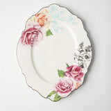 JENNA CLIFFORD (JC-7057) (WAVY ROSE)  OVAL PLATTER