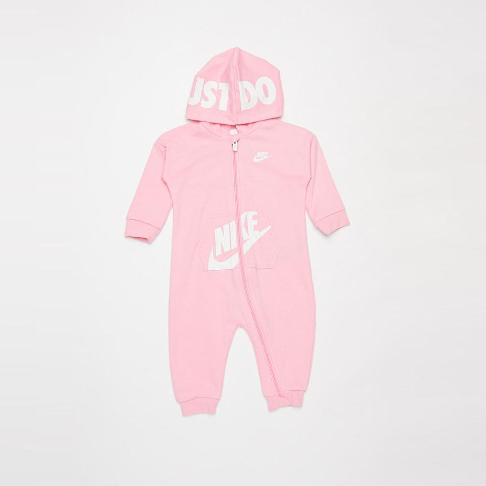 NIKE BABY GIRLS (HOODED BABY FT) COVERALL