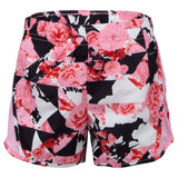 NIKE LITTLE GIRLS (CU8198-654) (TEMPO PRINTED RUNNING) SHORTS